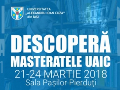 Masterate UAIC - Iași